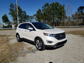 Used 2015 Ford Edge Titanium SUV 2FMPK3K9XFBB70374 For Sale in Myrtle Beach SC