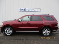New 2019 Dodge Durango CITADEL AWD Sport Utility for sale in Bowdle, SD