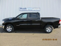 New 2019 Ram 1500 BIG HORN / LONE STAR CREW CAB 4X4 5'7 BOX Crew Cab for sale in Bowdle, SD