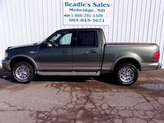 2001 Ford F-150 Supercrew King Ranch Crew Cab 139 King Ranch 4WD
