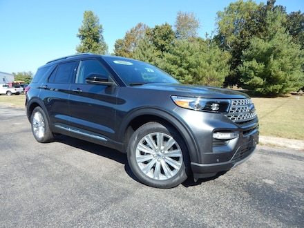 Featured New 2020 Ford Explorer Limited SUV for Sale in Dickson, TN