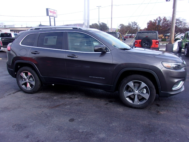 New 2019 Jeep Cherokee LIMITED 4X4 Sport Utility near Wilkes-Barre