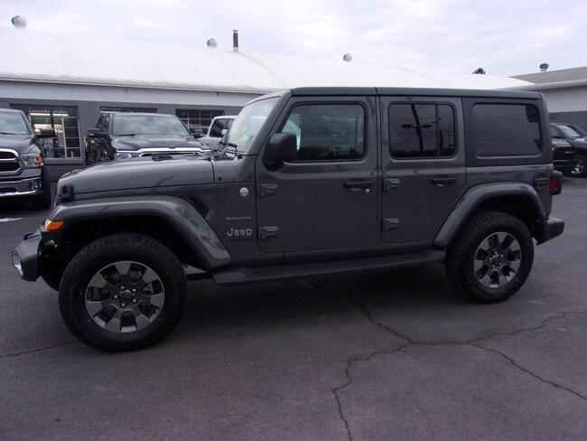 New 2019 Jeep Wrangler UNLIMITED SAHARA 4X4 Sport Utility near Wilkes-Barre