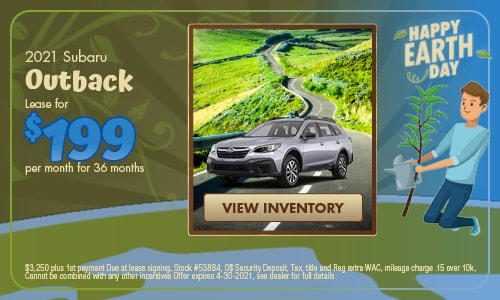 April 2021 Outback Special