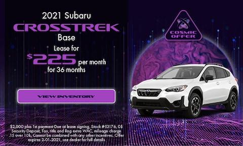 January 2021 Crosstrek Special
