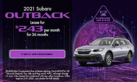December 2021 Outback Special