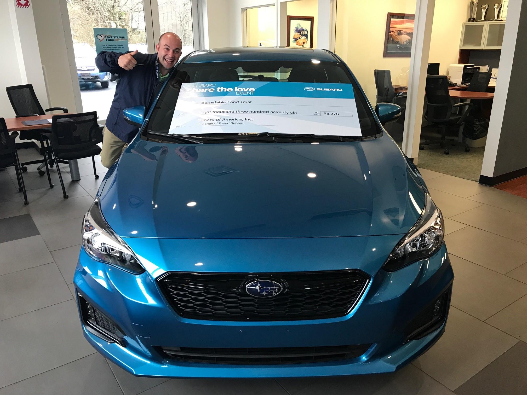 About Beard Subaru New Subaru And Used Car Dealer Hyannis