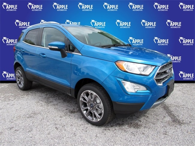 New 2019 Ford EcoSport Titanium SUV For sale/lease York, PA