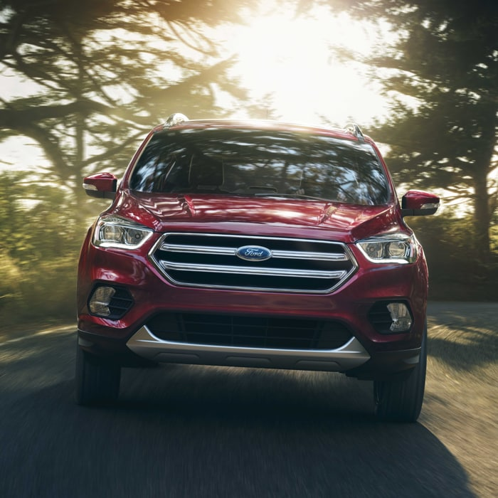 Red 2017 Ford Escape