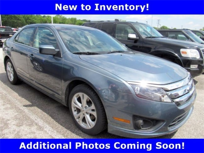 Used  2012 Ford Fusion SE Sedan For sale in York, PA