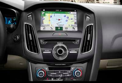 in-dash computer system, Ford Sync