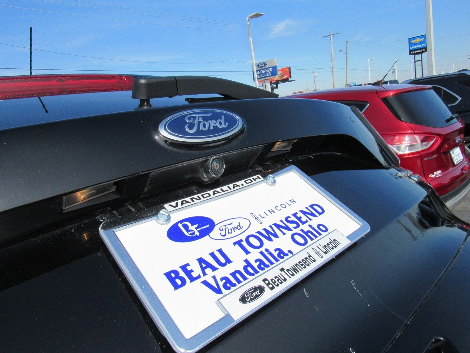 6964566086 Used 2017 Ford Escape For Sale at Beau Townsend Lincoln of Dayton ...