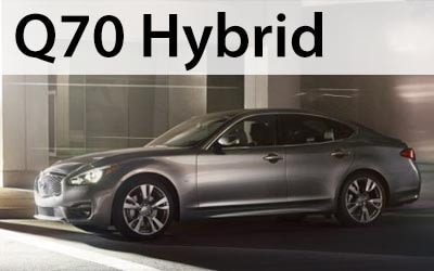 Click to view and download the Q70 Hybrid brochure.