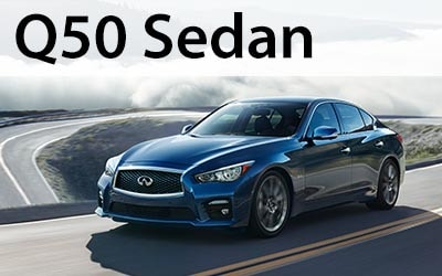 Click to view and download the Q50 brochure.