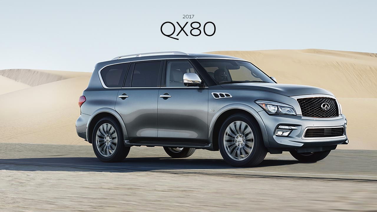 2017 INFINITI QX80 SUV - Ultimate blend of luxury and versatility