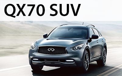 Click to view and download the QX70 brochure.