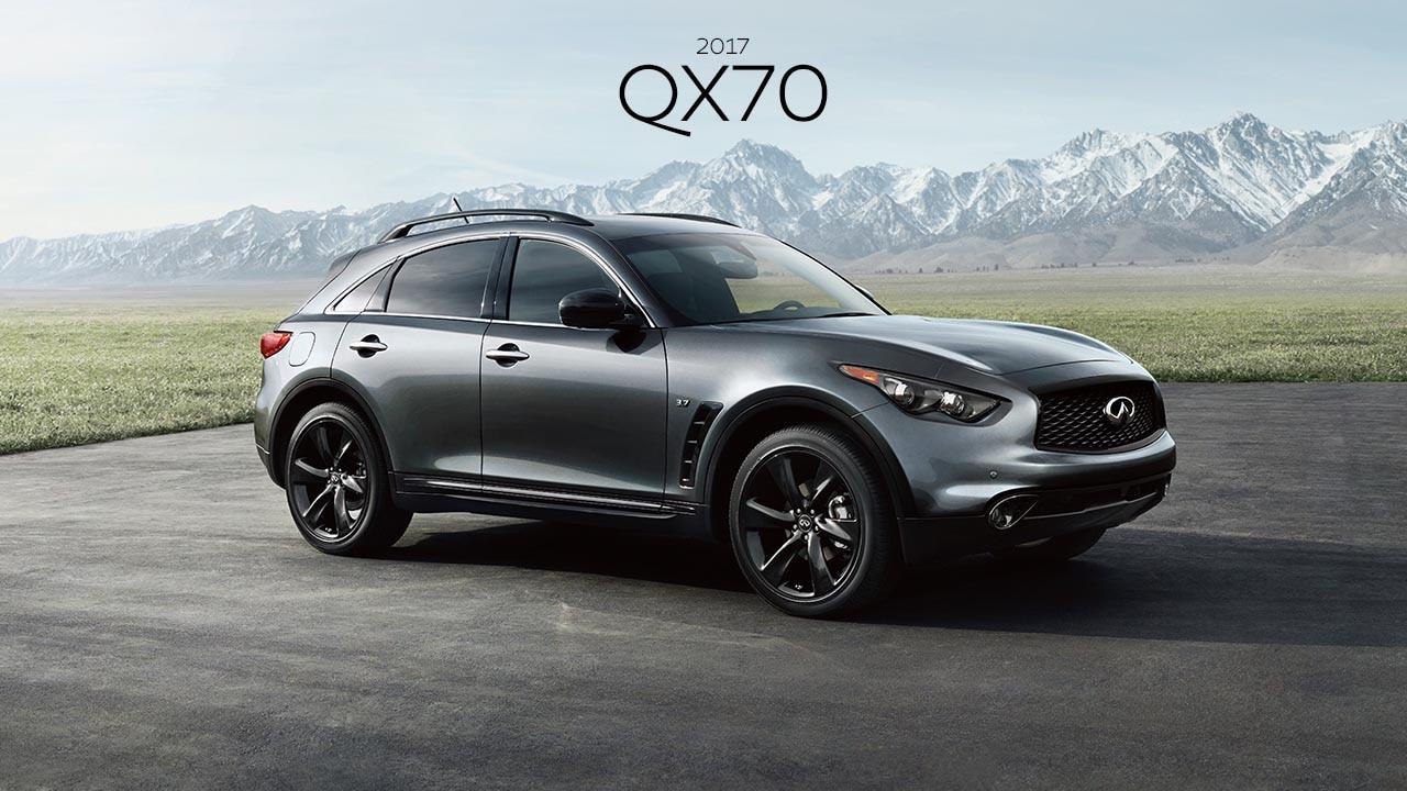 2017 INFINITI QX50 SUV - A coupe inspired crosover