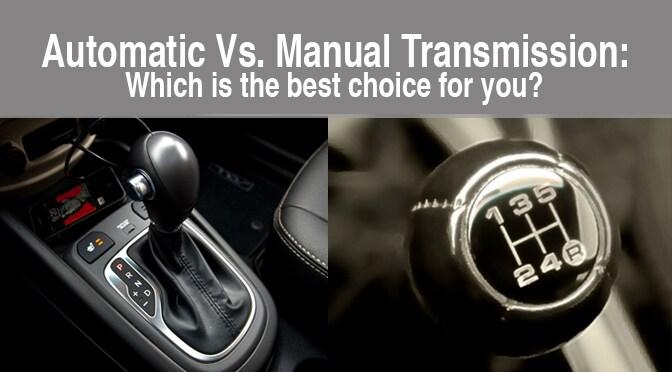 Bob Lanpheres Beaverton Kia  Automatic Vs Manual Transmission