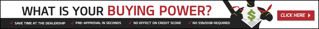Click to get an instant credit decision. No SSN or DOB required, No impact to your credit score, and it's free.