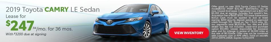 Toyota Camry - November