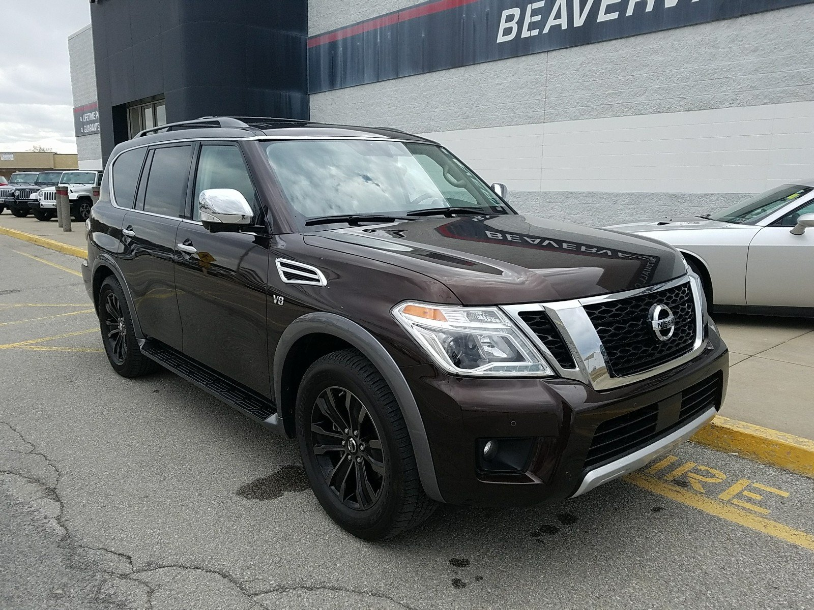Used 2018 Nissan Armada For Sale at Beaver Valley Automall