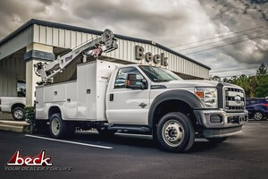 2015 Ford F-550 Chassis Crane