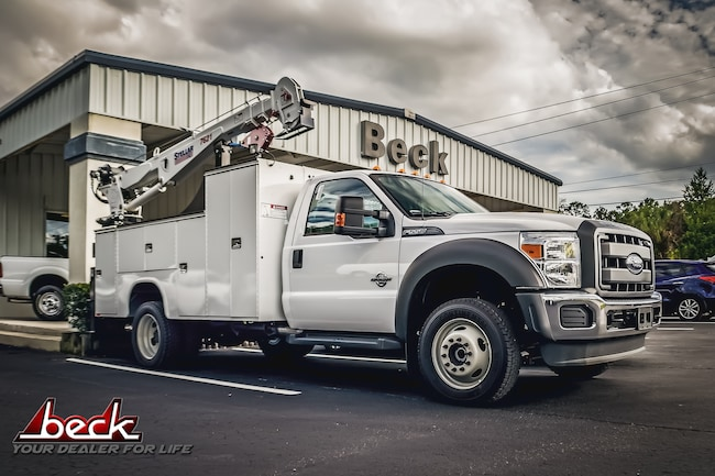New 2015 Ford F-550 Chassis Crane Commercial in Palatka