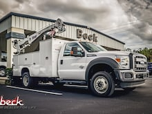 2015 Ford F-550 Chassis Crane Commercial