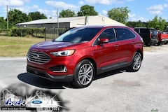 New 2019 Ford Edge Titanium Crossover FN6150 for Sale near St. Augustine, FL, at Beck Ford Lincoln