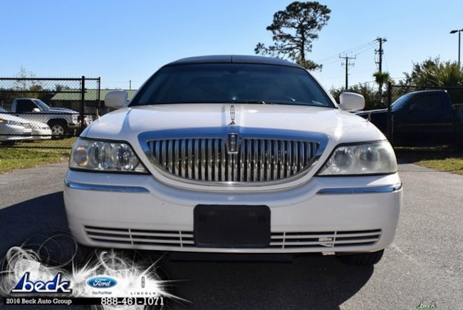 Used 2005 Lincoln Town Car Executive Sedan Palatka Fl Beck Ford