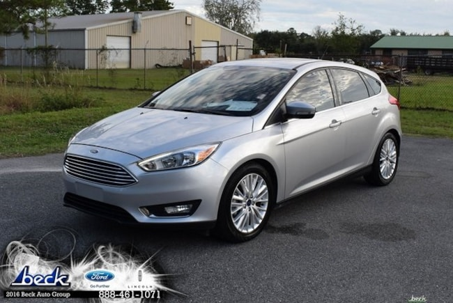 new 2018 ford focus titanium hatchback in palatka fl. Black Bedroom Furniture Sets. Home Design Ideas