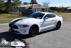 New 2019 Ford Mustang Ecoboost Premium Coupe for Sale near St. Augustine, FL, at Beck Ford Lincoln