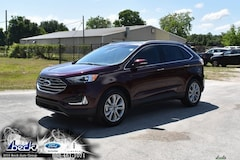 New 2019 Ford Edge Titanium Crossover FN6146 for Sale near St. Augustine, FL, at Beck Ford Lincoln