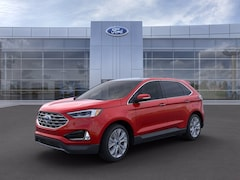New 2021 Ford Edge Titanium Crossover FN7397 for Sale near St. Augustine, FL, at Beck Ford Lincoln