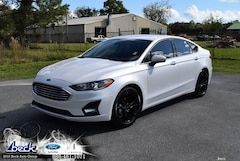 New 2019 Ford Fusion SE Sedan FN5735 for Sale near Gainesville, FL, at Beck Ford Lincoln