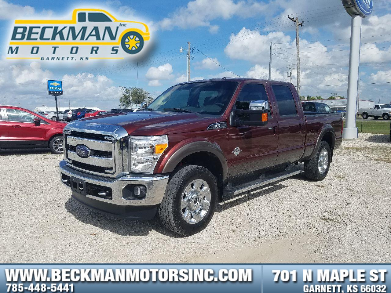 2016 Ford Super Duty F-250 SRW Lariat Crew Cab Pickup - Standard Bed