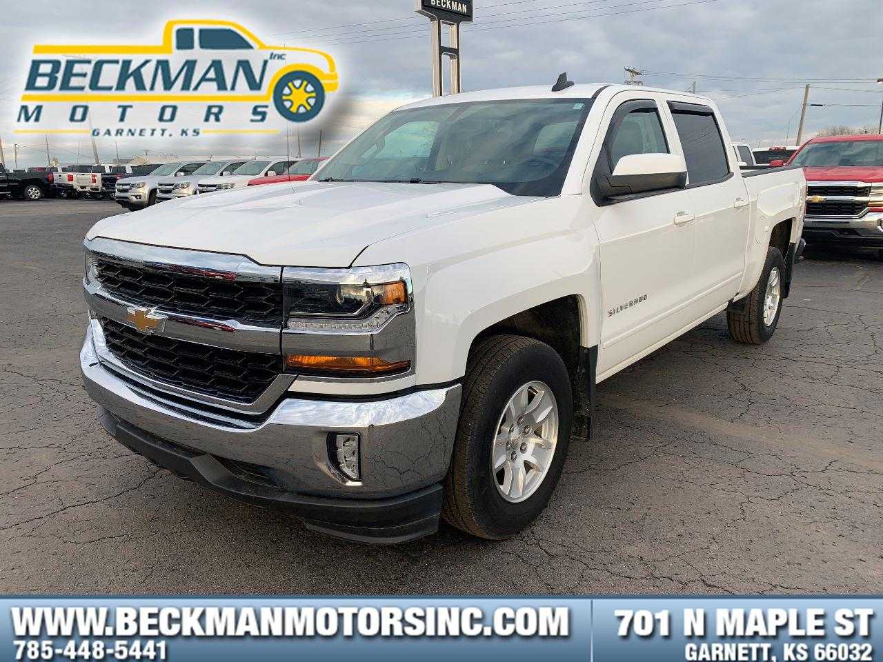 2017 Chevrolet Silverado 1500 LT Crew Cab Pickup - Short Bed
