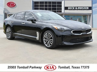 New 2018 Kia Stinger Premium Sedan for Sale Near Houston TX