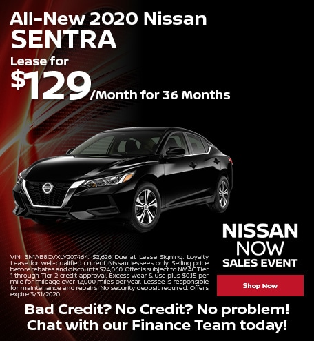 All-New 2020 Nissan Sentra - March