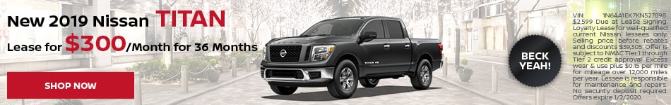 New 2019 Nissan Titan - Dec