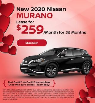 New 2020 Nissan Murano - Feb
