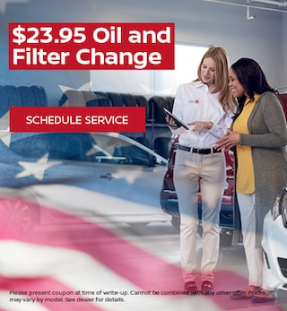 $23.95 Oil and Filter Change
