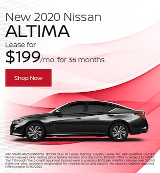 New 2020 Nissan Altima November
