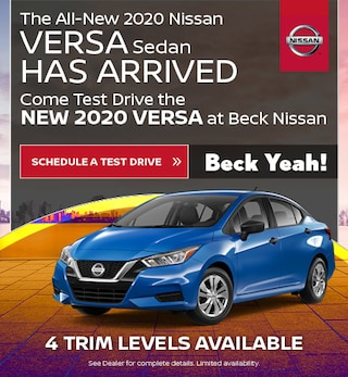 New 2020 Nissan Versa - Oct '19