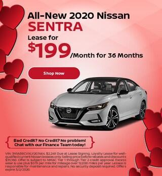 All-New 2020 Nissan Sentra - Feb
