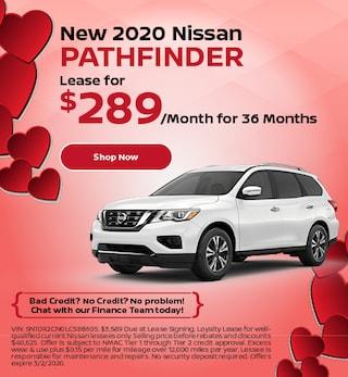 New 2020 Nissan Pathfinder - Feb