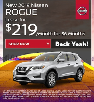 New 2019 Nissan Rogue - Oct '19