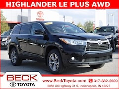 2016 Toyota Highlander LE Plus V6 SUV For Sale in Indianapolis, IN