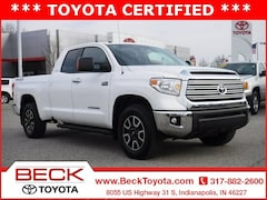 2017 Toyota Tundra Limited 5.7L V8 w/FFV Truck Double Cab For Sale in Indianapolis, IN