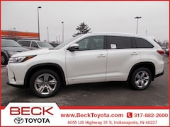 New 2019 Toyota Highlander Hybrid Limited V6 SUV For Sale in Indianapolis, IN